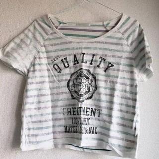 レトロガール(RETRO GIRL)の売り切りセール中★レトロガールショート丈トップス(Tシャツ(半袖/袖なし))