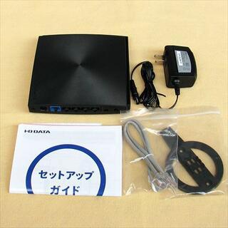 アイオーデータ(IODATA)のIO DATA Wi-Fi 無線LAN ルーター (867+300Mbps)(PC周辺機器)