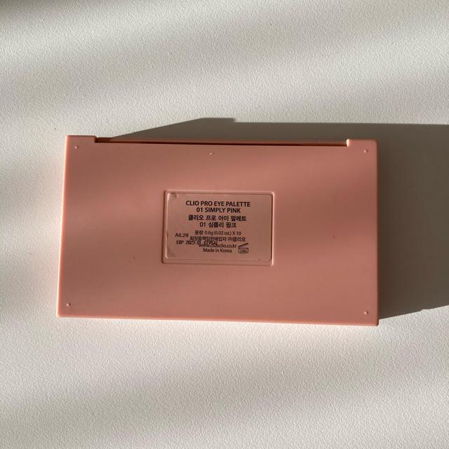 3ce(スリーシーイー)のクリオ アイシャドウパレット コスメ/美容のベースメイク/化粧品(アイシャドウ)の商品写真