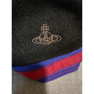 Vivienne Westwood - Vivienne Westwood ORB刺繍 ベレー帽 ブラック