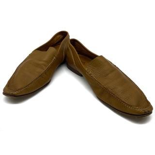 エルメス(Hermes)のエルメス 靴 シューズ ビジネスシューズ レザー ブラウン系(ドレス/ビジネス)