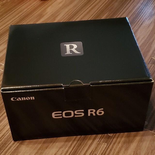 Canon(キヤノン)のCanon EOS R6 新品/未開封品 値引き交渉可! スマホ/家電/カメラのカメラ(ミラーレス一眼)の商品写真