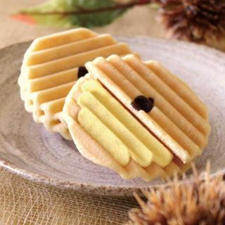 お菓子 和菓子 季節限定                     栗ヴァッフェル(菓子/デザート)