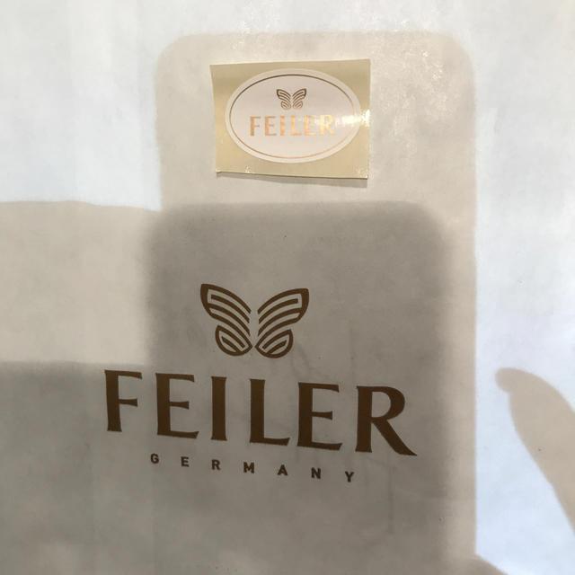 FEILER(フェイラー)のフェイラーハンカチ 黒猫 レディースのファッション小物(ハンカチ)の商品写真