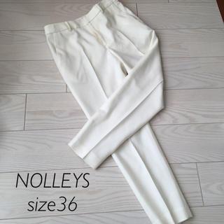 NOLLEY'S - NOLLEYS light 美ラインウールパンツ