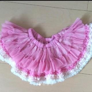 フェフェ(fafa)のパンパンチュチュ チュールスカートS ピンク(スカート)