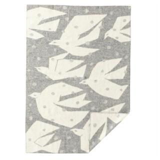 ミナペルホネン(mina perhonen)のミナペルホネン×クリッパン TRIP ブランケット グレー(毛布)