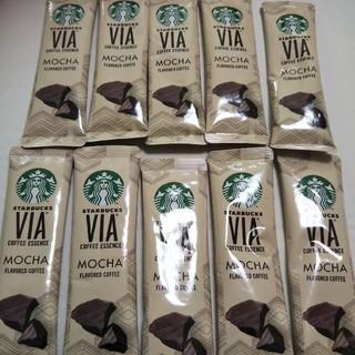 Starbucks Coffee - スターバックスヴィア モカ10本 STARBUCKS スタバ
