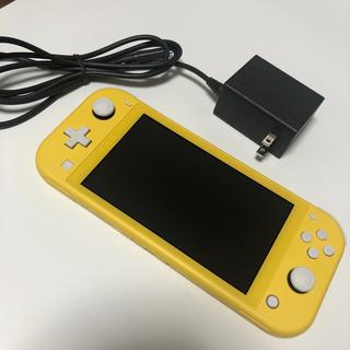 Nintendo Switch - ニンテンドースイッチライト 本体 充電器 イエロー 任天堂 Nintendo
