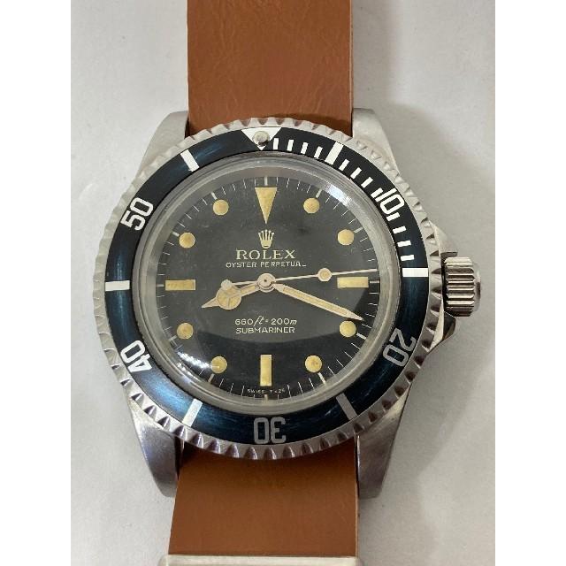 ROLEX(ロレックス)のROLEX ロレックス 5513 サブマリーナ ブラックフライデー超特価! メンズの時計(腕時計(アナログ))の商品写真