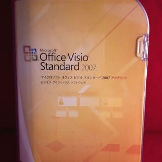 マイクロソフト(Microsoft)の正規●マイクロソフト Office Visio Standard2007●製品版(その他)
