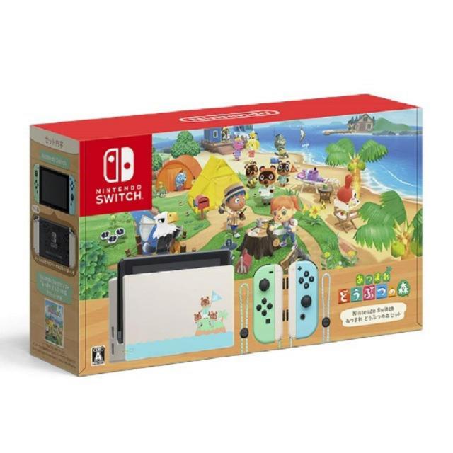 Nintendo Switch(ニンテンドースイッチ)のNintendo Switch あつまれ どうぶつの森セット 本体 ニンテンドー エンタメ/ホビーのゲームソフト/ゲーム機本体(家庭用ゲーム機本体)の商品写真