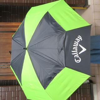 キャロウェイゴルフ(Callaway Golf)のキャロウェイShedRain ワンタッチオープン ブラック×グリーン収納ケース付(その他)