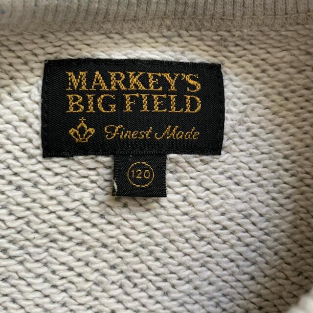 MARKEY'S(マーキーズ)のマーキーズ トンプキントレーナー ニット セーター 120 キッズ/ベビー/マタニティのキッズ服男の子用(90cm~)(その他)の商品写真