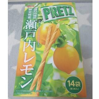 ご当地プリッツ 瀬戸内地区 限定 瀬戸内レモン お菓子 グリコ(菓子/デザート)