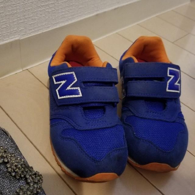 New Balance(ニューバランス)のニューバランス NB キッズ スニーカー キッズ/ベビー/マタニティのキッズ靴/シューズ(15cm~)(スニーカー)の商品写真