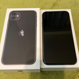 アイフォーン(iPhone)のiPhone11 128GB SIMフリー(スマートフォン本体)