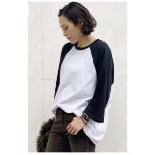 L'Appartement DEUXIEME CLASSE - AP STUDIO PRE_ バックドレープラグランTシャツ 美品