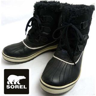 ソレル(SOREL)のSOREL ソレル スノーブーツ / ウインターブーツ US7(24cm相当)(ブーツ)
