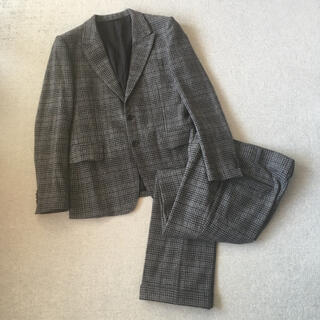 マーカウェア(MARKAWEAR)のMARKAWARE setup Plaid tailored jacket(テーラードジャケット)