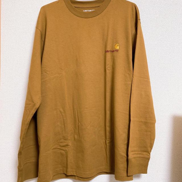 carhartt(カーハート)のcarhartt L/S AMERICAN SCRIPT T-SHIRT メンズのトップス(Tシャツ/カットソー(七分/長袖))の商品写真