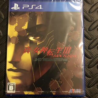 PlayStation4 - 新品未開封 真・女神転生III ノクターン   NOCTURNE PS4