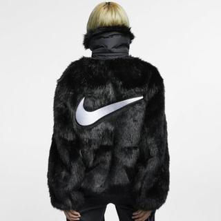 NIKE - NIKE x AMBUSH Reversible Faux Fur Coat