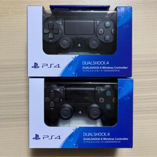 PlayStation4 - PS4 ワイヤレスコントローラー DUALSHOCK4 Jet Black