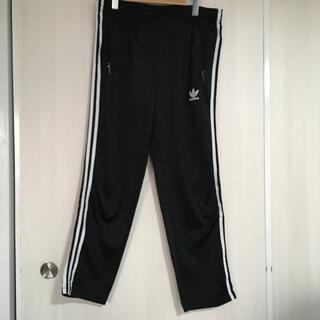 adidas - 古着 adidas ジャージ トラックパンツ ブラック M〜L  アディダス