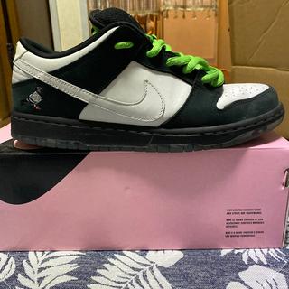 """ナイキ(NIKE)のStaple x Nike SB Dunk Low """"Panda Pigeon""""(スニーカー)"""
