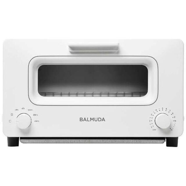 BALMUDA(バルミューダ)のバルミューダ トースター K01E-WS スマホ/家電/カメラの調理家電(調理機器)の商品写真
