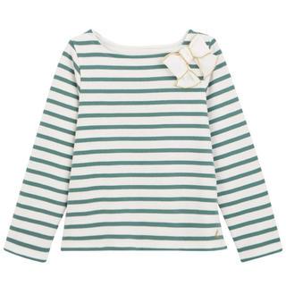 プチバトー(PETIT BATEAU)のタグ付新品♡プチバトー マリニエール トップス(Tシャツ/カットソー)