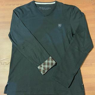 ブラックレーベルクレストブリッジ(BLACK LABEL CRESTBRIDGE)のBLACK LABEL CRESTBRIGE 長袖カットソー【Mサイズ】(Tシャツ/カットソー(七分/長袖))