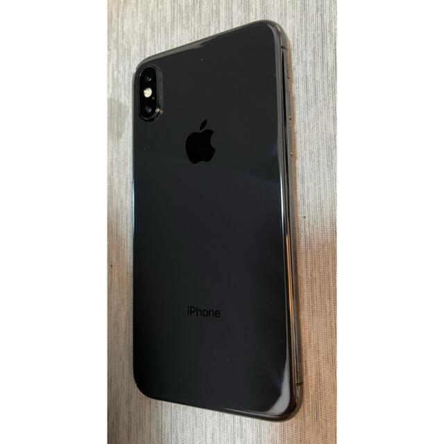 Apple(アップル)の海様専用 Apple iPhoneX 64GB スペースグレー スマホ/家電/カメラのスマートフォン/携帯電話(スマートフォン本体)の商品写真