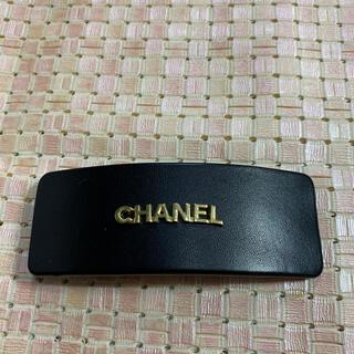 CHANEL - CHANELバレッタ 正規品 ブラック