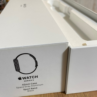 Apple Watch - Apple Watch 3 本体 42mm