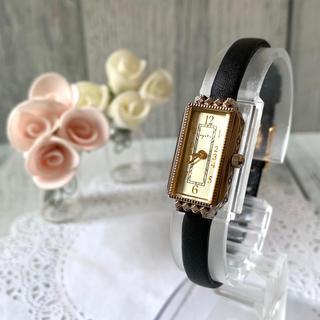 アガット(agete)の【美品】agete アガット 腕時計 0.014ct ゴールド 腕時計(腕時計)