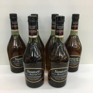 サントリー(サントリー)のサントリーウイスキー リザーブ 660ml 6点セット(ウイスキー)
