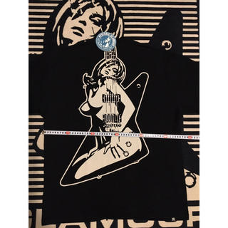 HYSTERIC GLAMOUR - ギターガール オーバーサイズTシャツ メンズLサイズ