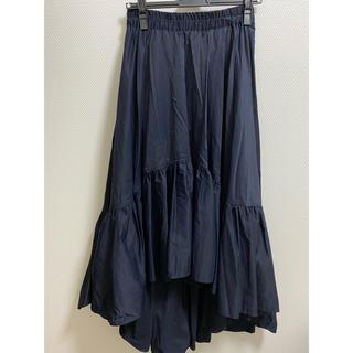 DOUBLE STANDARD CLOTHING - ダブルスタンダード  ロングスカート ネイビー