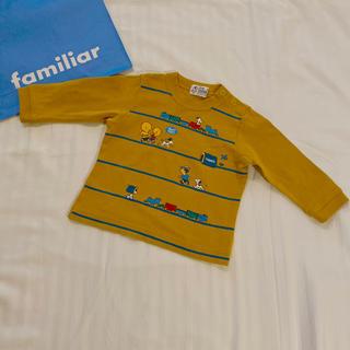 familiar - familiar 長袖Tシャツ 80