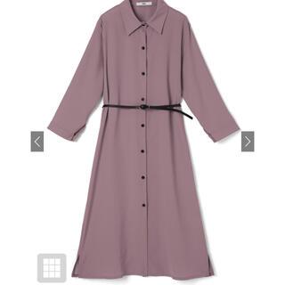 GRL - 細ベルト付きシャツワンピース