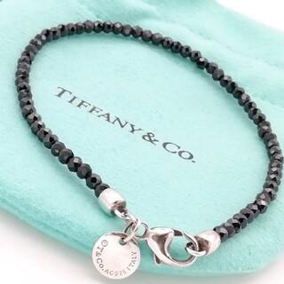 Tiffany & Co. - ティファニー ブラック ストーン ブレスレット SV925