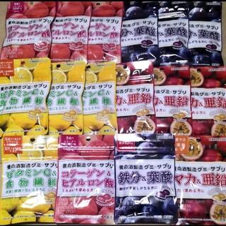 養命酒グミサプリ【16袋セット】4種類★各4袋  【定価3408円】
