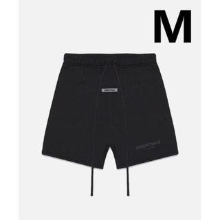 フィアオブゴッド(FEAR OF GOD)のM / 20SS FOG Essentials Sweat Shorts 黒(ショートパンツ)
