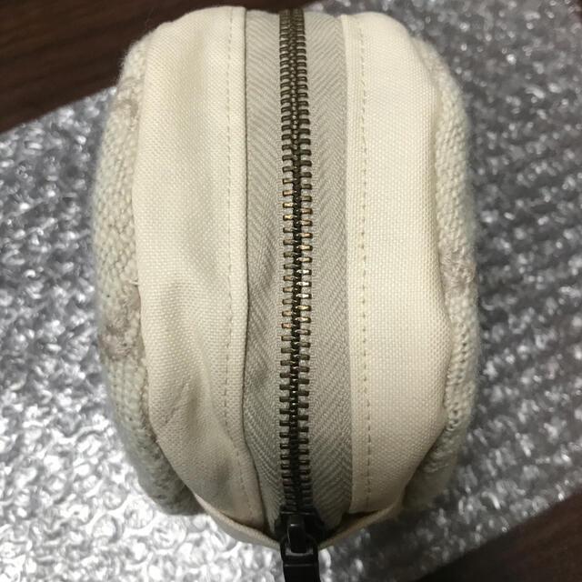 mina perhonen(ミナペルホネン)のミナペルホネン 丸型ポーチ ハンドメイド ハンドメイドのファッション小物(ポーチ)の商品写真