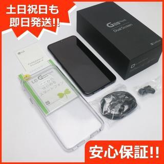 エルジーエレクトロニクス(LG Electronics)の新品同様 901LG オーロラブラック スマホ 白ロム(スマートフォン本体)