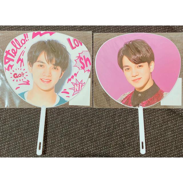 Johnny's(ジャニーズ)のTravis Japan トラジャ 宮近海斗 ミニうちわ エンタメ/ホビーのタレントグッズ(アイドルグッズ)の商品写真