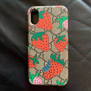 Gucci - iPhoneケース GUCCI いちご ストロベリー