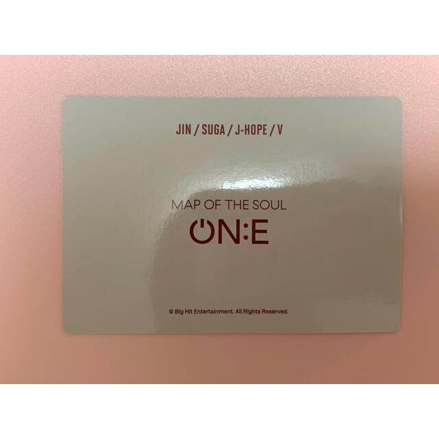 防弾少年団(BTS)(ボウダンショウネンダン)のBTS MOS ON E  ON:E タンブラー トレカ ミニフォト ユニット エンタメ/ホビーのタレントグッズ(アイドルグッズ)の商品写真